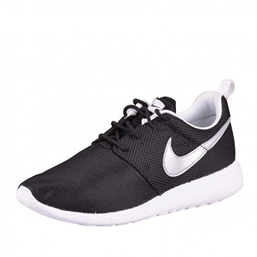 huge discount fe2d8 eee4e Nike Rosherun (GS) Laufschuhe black-metallic silver-white-white - 36