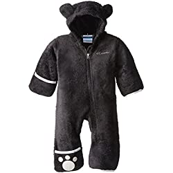 Columbia Enfant Combinaison Polaire, FOXY BABY II BUNTING, Polyester, Noir, Taille : 6/12 mois, WN0016