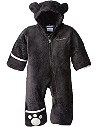 Columbia Foxy Baby II Bunting Traje de Forro Polar, Color Azul, Otoño-Invierno, Infantil, Color Negro, tamaño 0/3