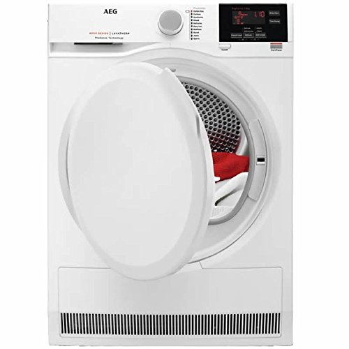 AEG ProSense T6DBG820N Condenser Tumble Dryer in White