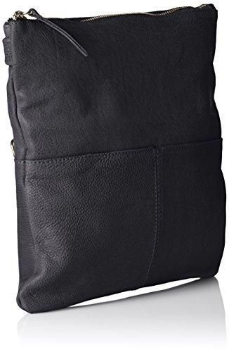 Amsterdam Cowboys - Bag Peterlee, Borsa a tracolla Donna Blu (Blau (Navy 810))