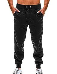 CHIC-CHIC Homme Pantalon de sport/jogging Sarouel Fitness Loose Crotch pantssurvêtement d'hommes Fit & Maison