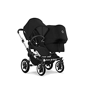 Bugaboo Donkey 2 Duo, 2 in 1 Pram and Double Pushchair for Baby and Toddler, Black   14