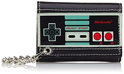 NINTENDO - Portefeuille - NES Controller Trifold Chain Wallet