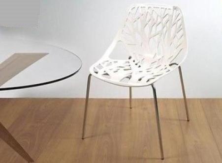 Sedie Da Cucina Bianche : Sedia da cucina ramificata bianca moderna seduta moderna