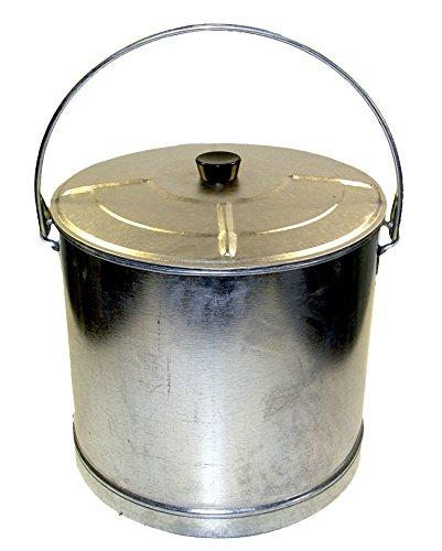 'Imex el zorro 10185 - Seau droit renforcé avec couvercle (14, diamètre 35 x 31 cm)