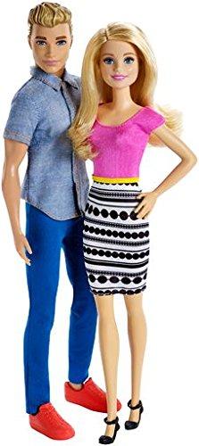 Barbie and Ken Gift Set, Multi Color