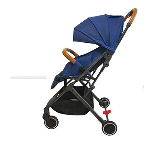 Cochecito De Bebé, Ligero para Sentarse, Reclinable, Verano, Carrito Sencillo, Carrito Plegable Ultra PequeñO, Cochecito De Bebé