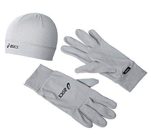 NEU Running Pack Asics Size M Unisex Kopfbedeckung Dunkelgrau (Kopfbedeckung Asics)