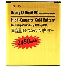 Smartex - Batería adicional para samsung galaxy s3 mini 2450mah compatible con i8190 - smartex por recomm ltd.
