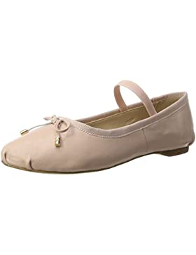 Buffalo Damen 216-6144 Sheep Leather Geschlossene Ballerinas