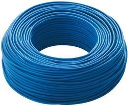 Private Label 1 X 2,5 Mmq - Mt. 100 - Cavo unipolare colore blu.
