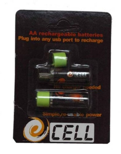 Link lp8054 Paire piles Ni-MH rechargeables USB AA stylet