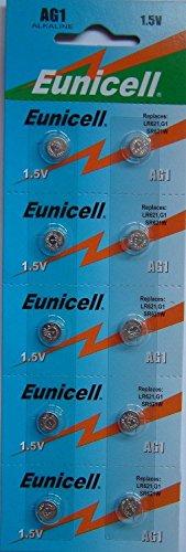 Eunicell - AG1, LR60, LR621 / 10 unidades