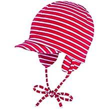 Döll Unisex - Baby Bindemütze mit Schirm Jersey