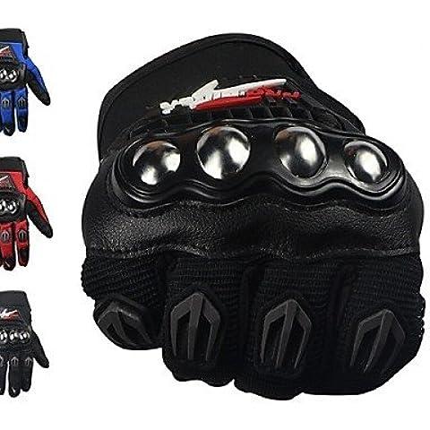 KOOKQ Guanti moto Dita intere Poliestere / Maglia M / L / XL Rosso / Nero / Blu , red-m , red-m #-2741