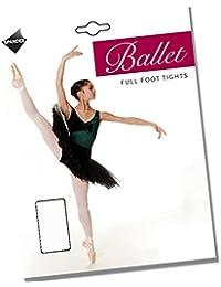 Weiche Kinder Ballett Strumpfhose mit Fuß.