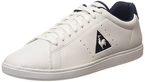 Le Coq Sportif Courtone S Lea Herren Sneaker Weiß (Optical White/DressOptical White/Dress)