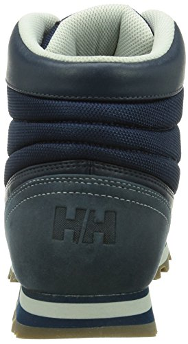 Helly Hansen  WOODLANDS, Bottes Classics de hauteur moyenne, doublure chaude homme Azul / Gris
