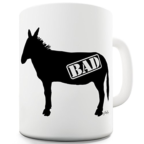 Lustige Kaffee Tasse Becher Bad Ass Animal Print Tea Coffee Quirky Novelty - Kaffee Animal-print Becher