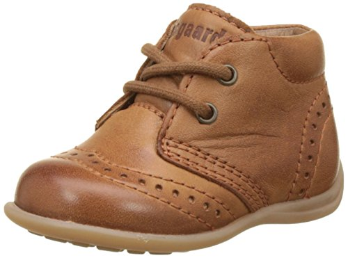 Bisgaard Unisex Baby Lauflernschuhe Sneaker, Braun (66 Cognac), 23 EU