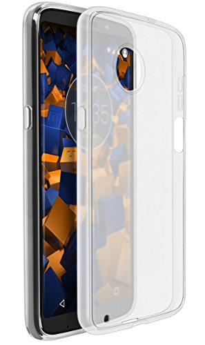 mumbi Schutzhülle für Motorola Moto Z3 Play Hülle transparent