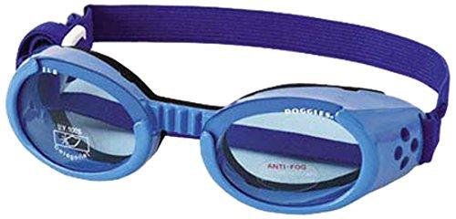 Artikelbild: Doggles ILS Medium Shiny Blue Frame mit Blau Lens Hund Brillen