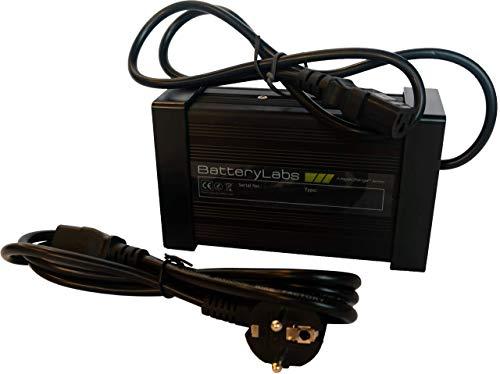 BatteryLabs - Chargeur Intelligent pour Batterie Lithium LFP (LiFePO4) 24V - (3A, Connecteur C13)...