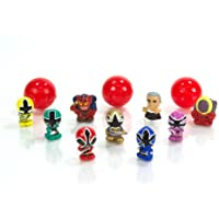 Squinkie Power Ranger 12 Piece Bubble Series 1 by Squinkies