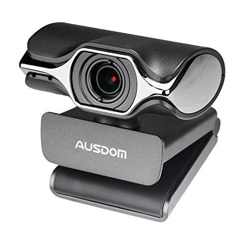 Computer Kamera, AUSDOM AW620 High Definition 1080P HD USB Webcam Netzwerk-Kamera mit Mikrofon für Skype Facetime Youtube Yahoo Messenger