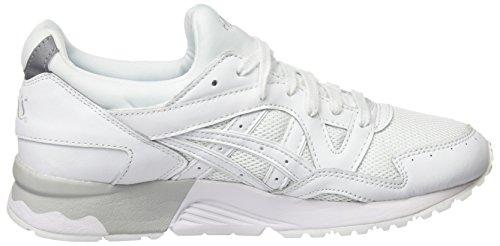 Asics Gel-Lyte V, Scarpe da Ginnastica Basse Unisex – Adulto Bianco (white/white)