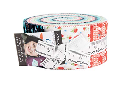 Moda Stoff Coledale Jelly Roll (Quilten Stoff Jelly Rolls)