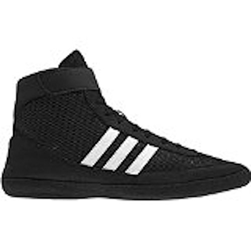 Adidas combattimento Velocità 4 Wrestling Scarpe gioventù Bahia Blu / calce Size 1.5 Black / White / Black