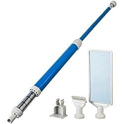 Manufacturas Gre PSV51 - Limpiafondos manual con accesorios, color blanco y azul