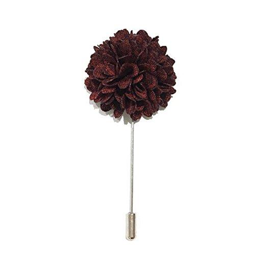 maroon-carnation-lapel-flower-business-wedding-gift-present-accessories-for-men