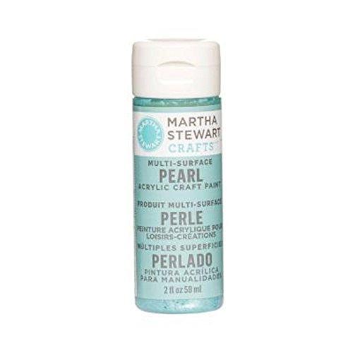 Martha Stewart Crafts 2Oz Malerei Aquarium Perle Acryl, Lotusblume, (Tank Perlen)