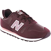 new balance gris y granate mujer