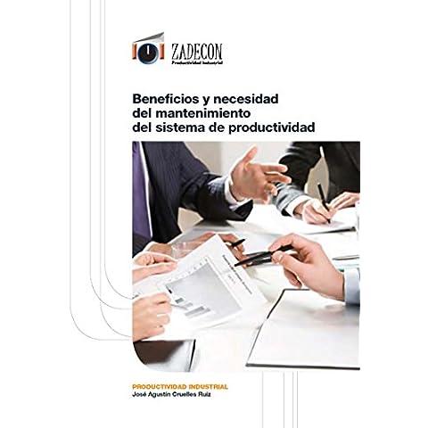 Beneficios y necesidad del mantenimiento del sistema de productividad (Productividad industrial)