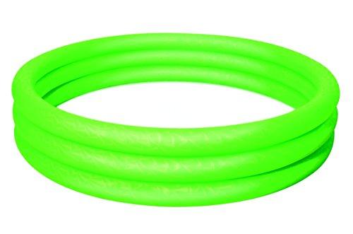 Bestway 51026g - Pool, 3-Ring, grün, ca. 152 x 30 cm, Planschbecken (Planschbecken Kunststoff)