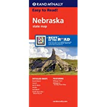 Rand McNally Easy to Read Nebraska State Map