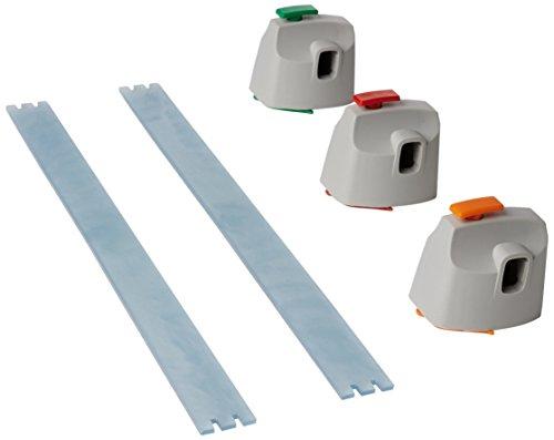 Papierschneidemaschine Profi Dahle (Dahle 960 Kreativ-Set (3 Schneideköpfe für Zick-Zack, Perforation und Bütten-Schnitt, passend für Dahle 507 Rollschneider))