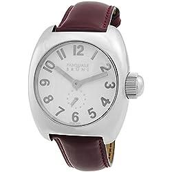 Pasquale Bruni Uomo Edelstahl Swiss Made Automatic Herren-Armbanduhr 01ma1bord