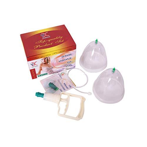 Busensaugschalen, 2 Dosen Brustvergrößerungspumpe für die Dame, Saugnäpfe von Verbessere Titties in Kurzer Zeit, Nippel Titten Fester Pumpe Tassen, (Busenschalen)