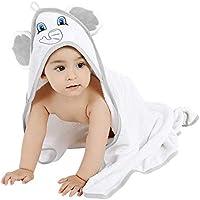 Süßes Kapuzenhandtuch Elefant 76x76 cm Babybadetuch Handtuch Baby Badetuch