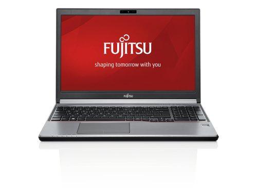 Fujitsu Lifebook E753 39,6cm matt HD (15,6 Zoll) Premium Notebook (Intel Core i5-3230M, 3.2GHz, 4GB RAM, 500GB HDD, DVD-RW, Win 7 Pro load und Win 8 Pro) schwarz