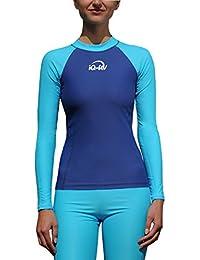iQ UV 300 camiseta Slim Fit de manga larga, ropa de protección UV