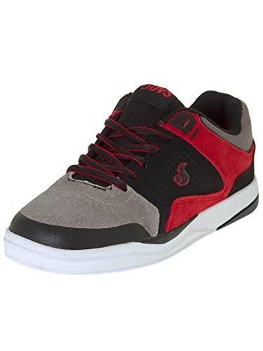 Chaussure Enfant DVS Portal Noir-Gris-Rouge