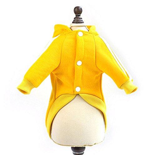 Imagen de zunea invierno cálido abrigo panda disfraz de forro polar sudaderas con capucha sudadera chaqueta de deporte pequeño perro ropa cachorro gato prendas de vestir alternativa