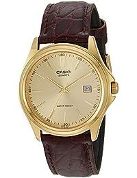 Casio reloj hombre piel marron MTP-1183Q-9A