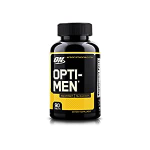 Optimum Nutrition (ON) Opti-Men Multivitamin - 90 Tablets